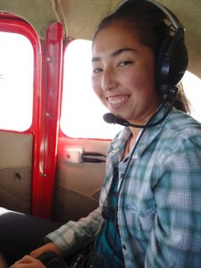 Kira Paik, a former Siegele intern, now works with Colorado Parks and Wildlife. Photo: Rob Schorr