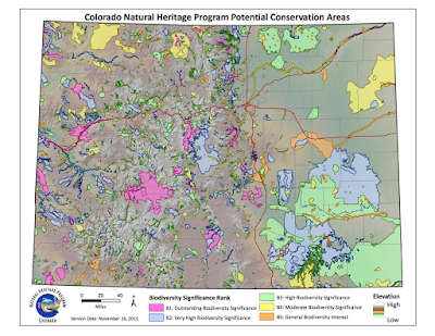 Map of Potential Conservation Areas