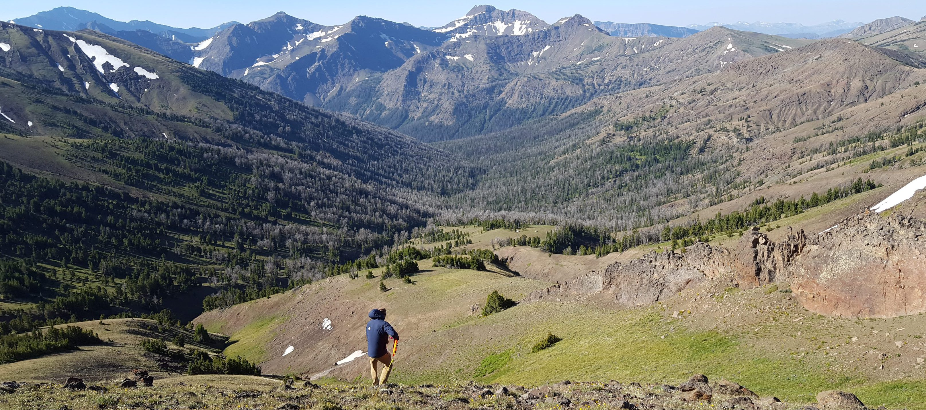 Colorado mountain peaks. CNHP Staff.
