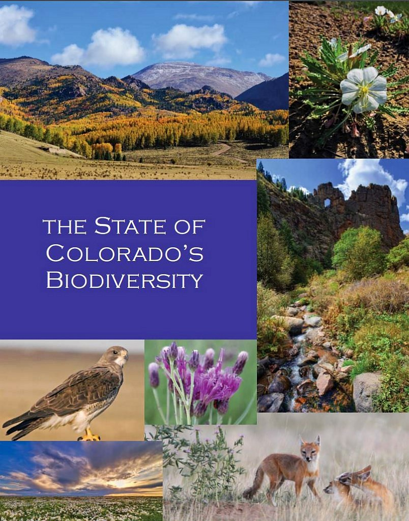 The State of Colorado's Biodiversity Cover Photo