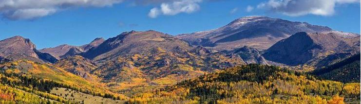 Fall foliage near Pikes Peak in El Paso County, Colorado. Photo by Michael Menefee.