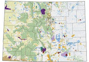 Colorado Ownership, Management and Protection map.