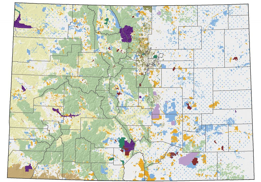 Mapping - Colorado Natural Heritage Program