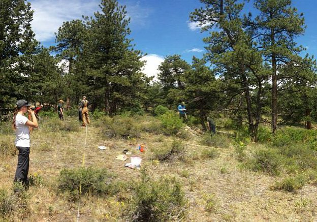 CNHP Field Crews Perform Monitoring Work at the Scout Ranch
