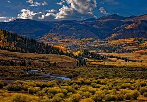 Fall in the San Juan Mountains by Michael Menefee.